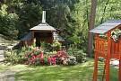 Chata Franmark - altánok, záhrada